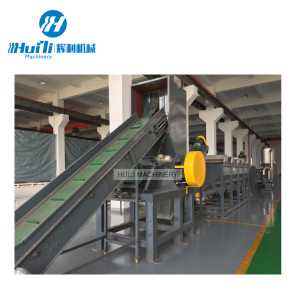 waste used scrap plastic pp woven jumbo bags film washing recycling machine