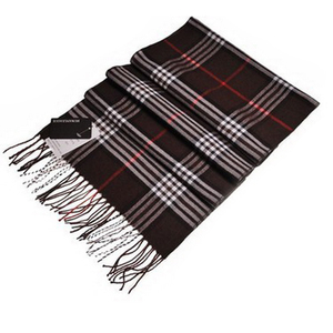 Fashion Women Men Warm Soft Imitated Cashmere Plaid Scarf