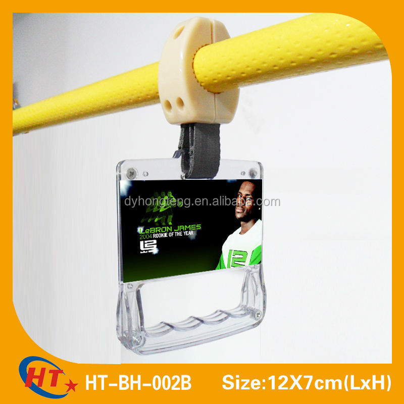12X7cm Thickened krystal bus handle bus ads handle