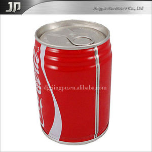 soft drink tin cans