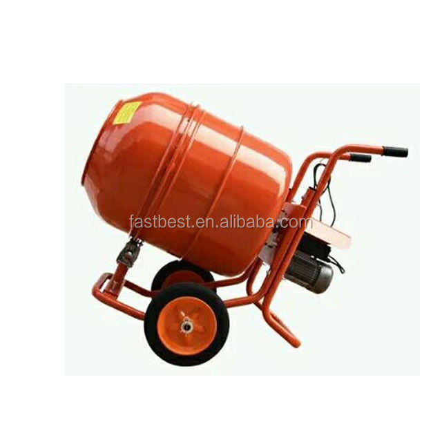 Diesel gasoline and electric concrete cement mixer