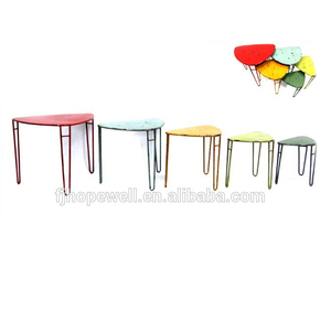 wholesale metal frame table set , outdoor tables furniture