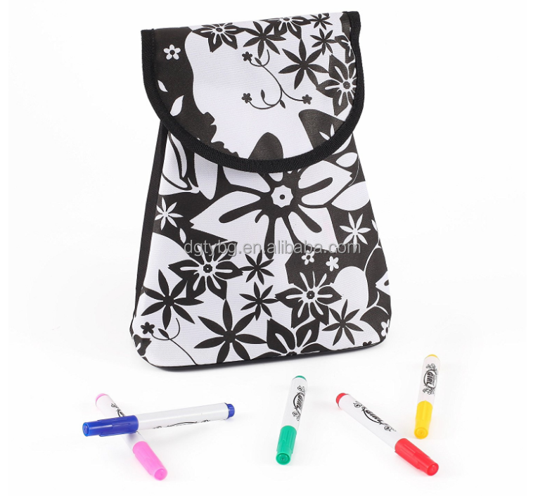 Design-it-Yourself Lunch Box, Lunch Bag, T-shirt Pen waterproof Permanent Marker fabric marker pen