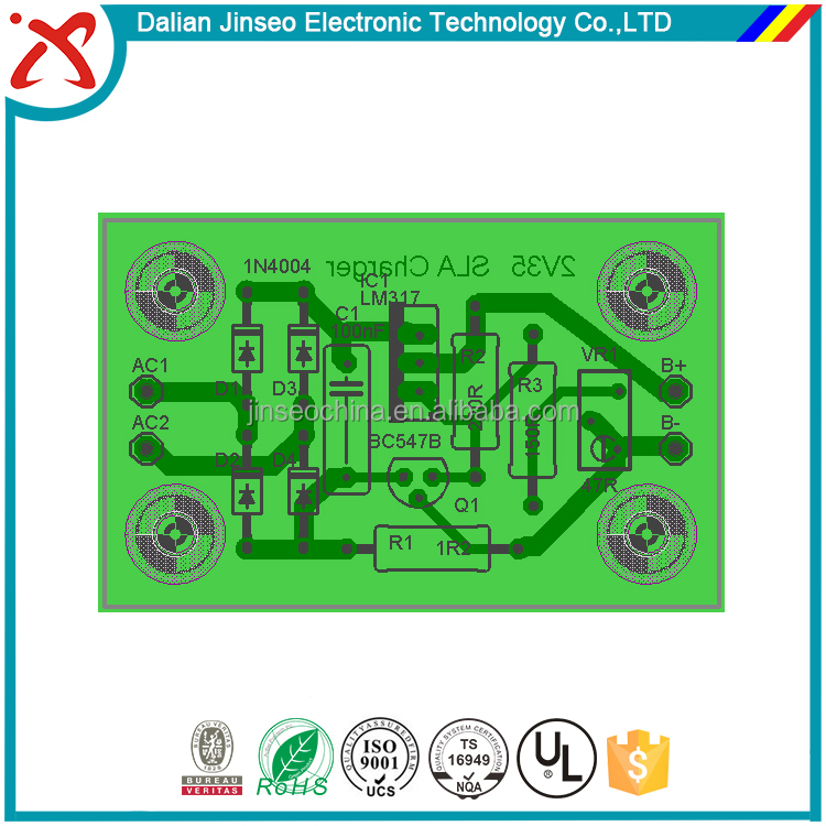 Pcb Electronic Components Battery Charging Circuit