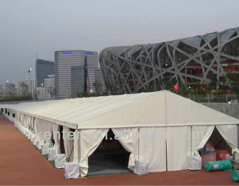 40m used industrial tents