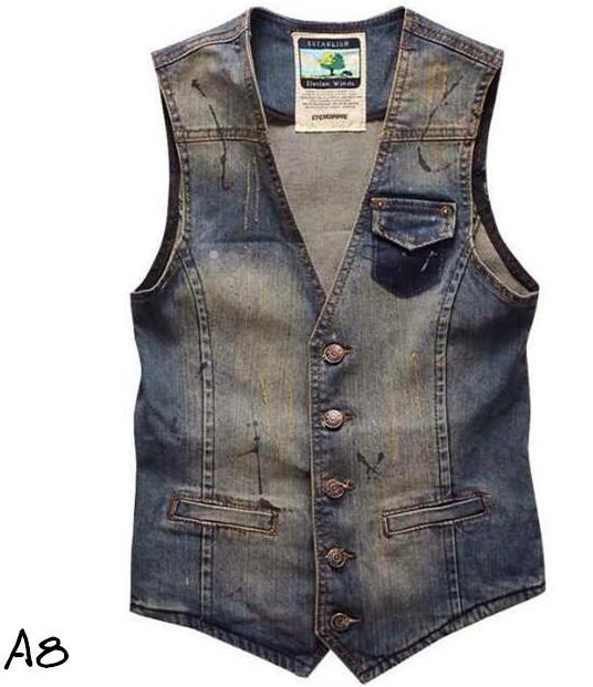 WILLOW (KITX) White Angle Hem Asymmetric Zip Sleeveless Denim Jacket Vest 8 $ Vest is unlined. vest by Willow features angular seamlines for a structured look! Sleeveless Denim Jacket Vest.