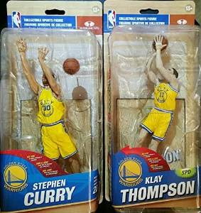 McFarlane Toys NBA Series 32 Stephen Curry Golden State Warriors Action Figure