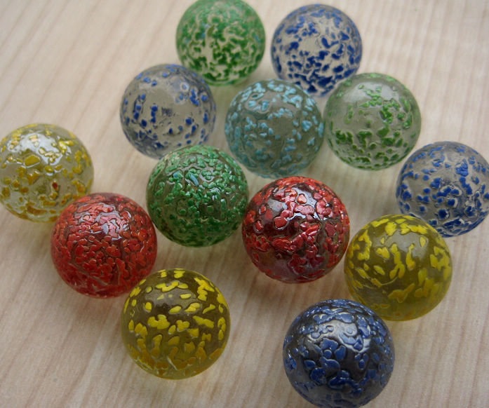 Clear Colored Marbles : Top glass marble ball in small size buy