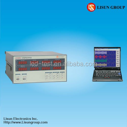 WT3000 Electronic Ballast Analyzer Measures Vrms/lrms/W/PF/Hz/phase angle/total harmonic and 0~39th harmonic components