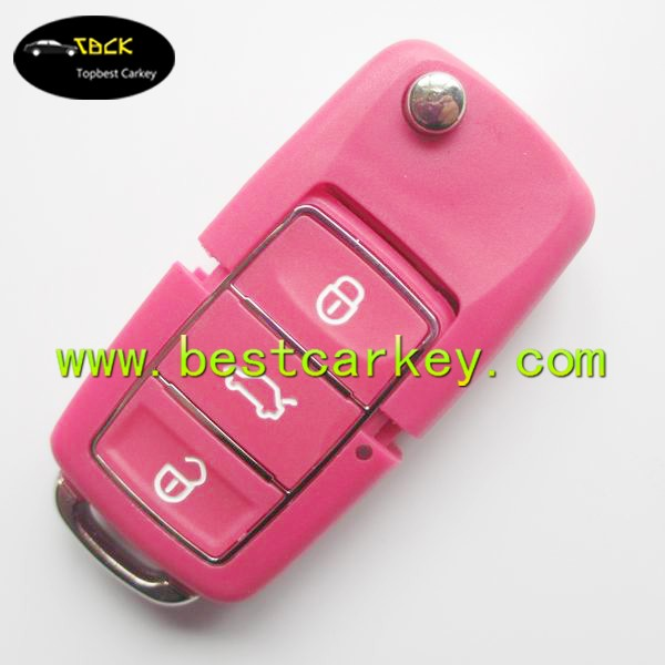 car key factory supply VW Touareg smart remote key covers remote key blank case