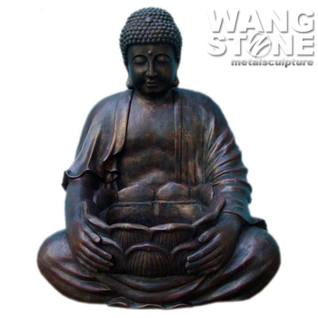 Large Zen Meditation Figure Garden Buddha Sculpture