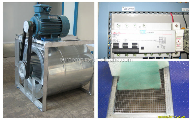 New Product China Supplier Electric Motor Ep-50 Auto Spray Booth ...