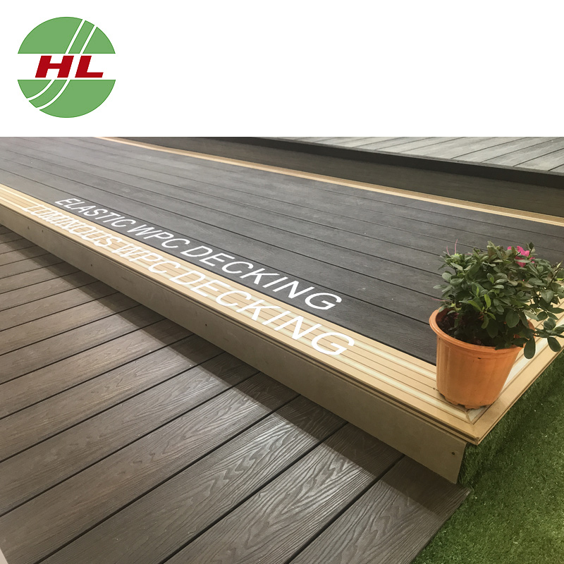 Natural Style Wpc Co Extrusion Decking Wood Plastic Composite Flooring For Outdoor Boards