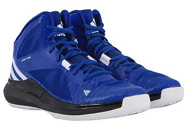 Adidas C75538 Crazy Strike men basketball sneakers blue black white