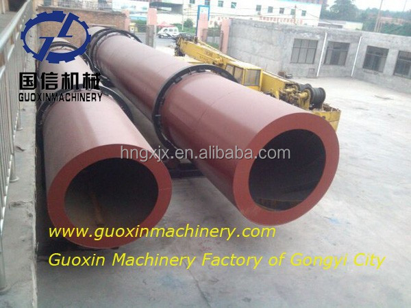 CE approved 1.8*14m quick returns coal ash rotary dryer