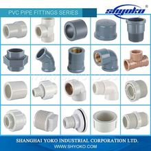 China Factory Customed pvc pipe manufacturers fittings