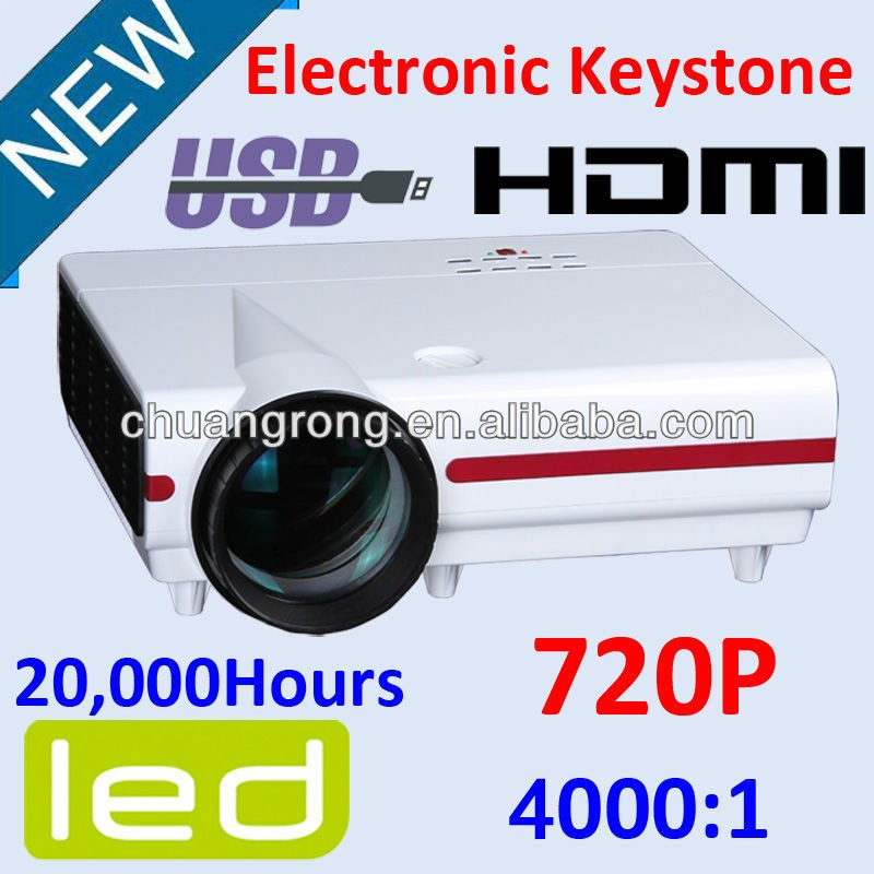CRE 20000hours 2800 lumens multimedia wifi available data show led lcd projector for education