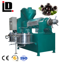 High-quality Automatic Screw Oil Extruder Machine( 6YL-130)with filter used for soybean,peanut,sunflower seeds,sesame,palm