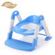 Plastic baby potty with step folding kids stair potty 2016 new model safety children size toilet