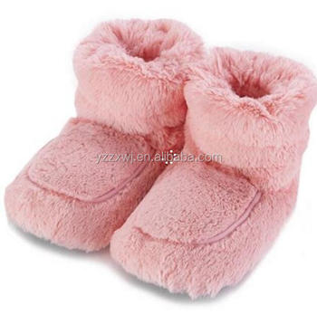 Hot Children Microwave Heated Slippers Wheat G Seed Heatable Bag