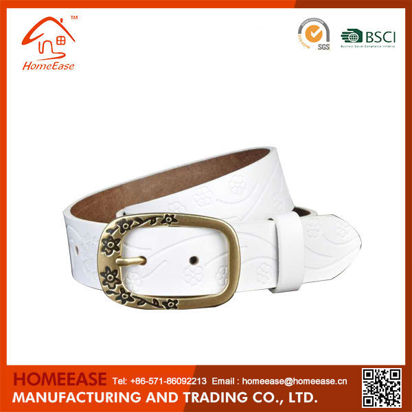 High quality hot sale beaded leather belt