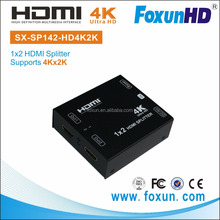 FOXUN SX-SP142-HD4K2K 1x2 HDMI Splitter video splitter hdmi 1 to 2 splitter
