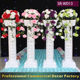 NEW1.1m 1.4m white plastic wedding pillar decoration with wedding artificial flowers