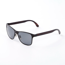 Sun glasses cycling bamboo imitation glasses