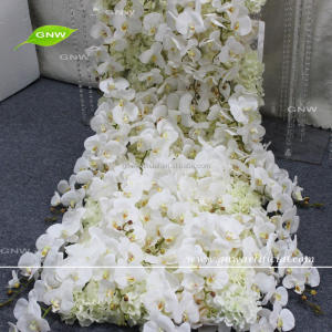GNW FLWD1708001-2 Latest product indian orchid flower table wedding decoration