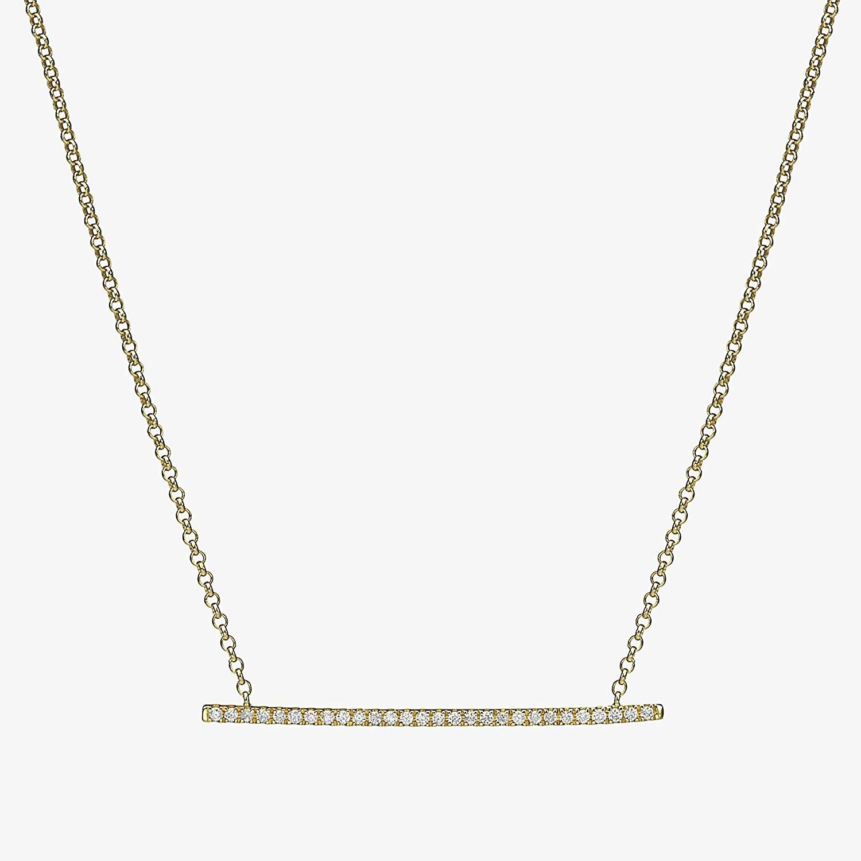 Get Quotations · Diamond Bar Necklace 0c22e69f99d3