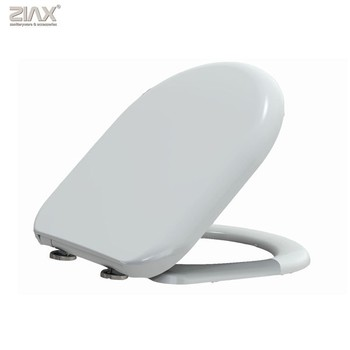 Awesome Top Fixing D Shaped Soft Close Toilet Seat View Toilet Seat Oem Product Details From Xiamen Ziax Sanitaryware And Accessories Co Ltd On Onthecornerstone Fun Painted Chair Ideas Images Onthecornerstoneorg