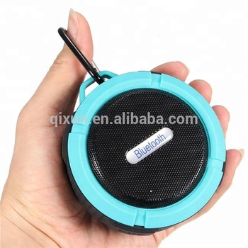 Portable Mini Waterproof Speaker with Suction Cup and hook wireless Speaker