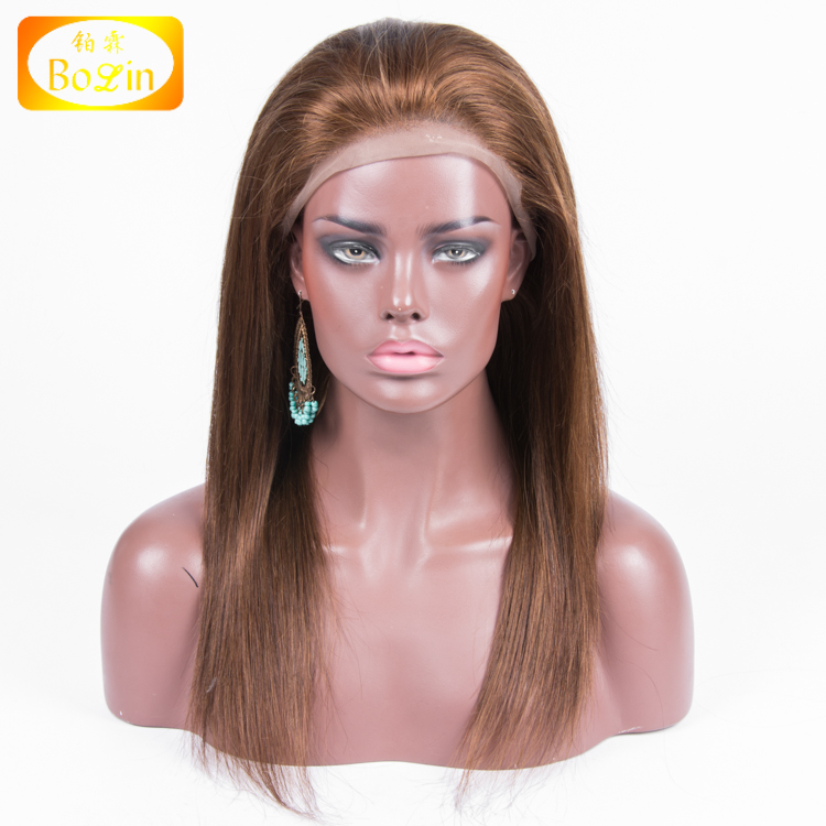 wholesale price salon quality 100% indian hair straight full lace wig