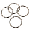 8*100 china supplier argon welded metal o ring