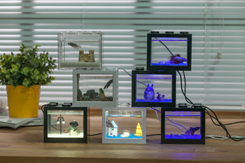 Mini tank aquarium for betta fish factory price