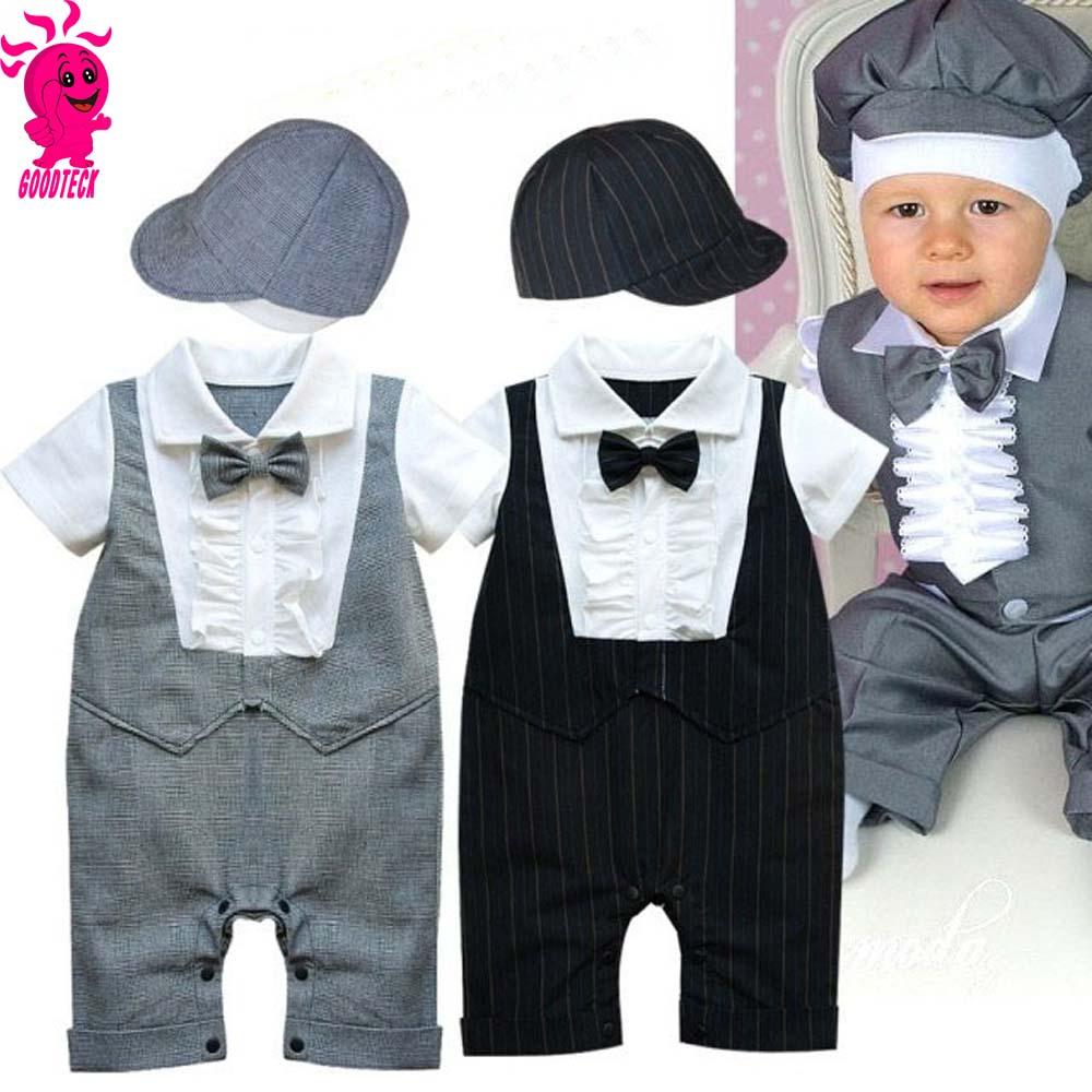 la mode b b gar on mariage formel partie arc cravate smoking costume barboteuse salopette. Black Bedroom Furniture Sets. Home Design Ideas