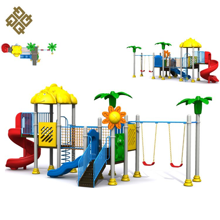 Factory Supply Super Quality Various Colors Non-Toxic Swing & Slide Digital Playground Free