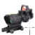 SPINA Tactical style 4X32 green Fiber Optics rifle sight scope hunting shooting with rmr