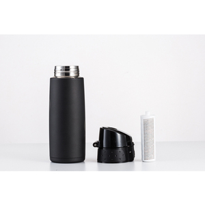 Alkaline water filter energy flask