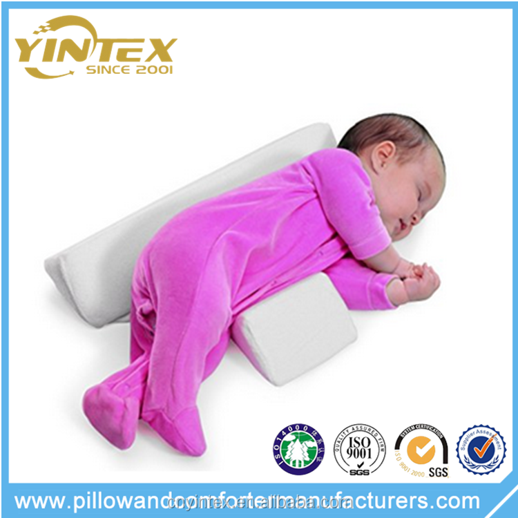 Yintex FOLDABLE Safe Lift Universal Crib Wedge pillow for Baby Mattress and Sleep