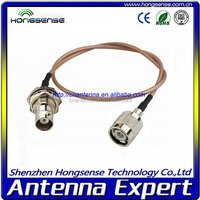 High quality RF connector/cable pal male to rca female connector