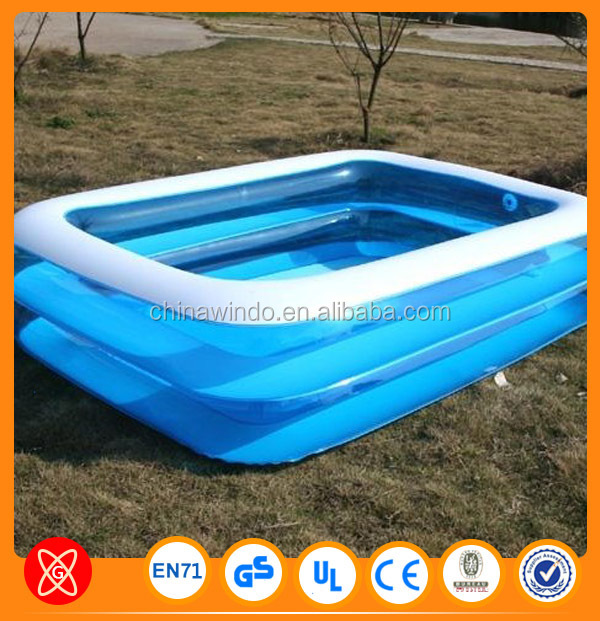 Outdoor above ground best selling large inflatable adult for Large swimming pools for sale
