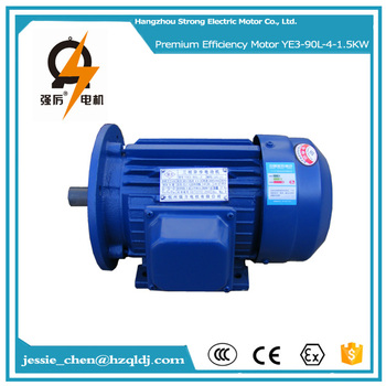 2hp 90l 2 4 poles 3 phase electric ac induction for Three phase four pole ac induction motor