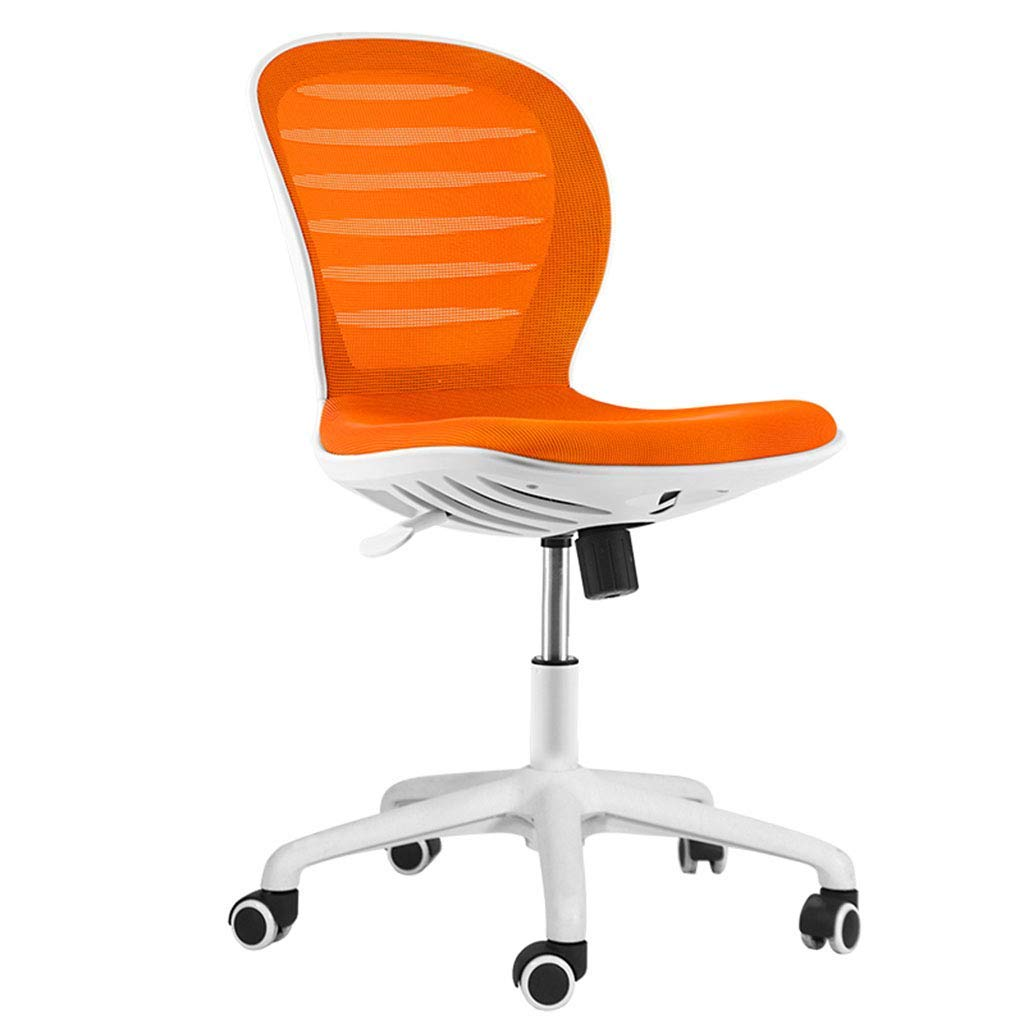 Desk Chairs Home Office Chair Study Computer Chair Mesh Staff Chair Learning Chair Armrestless Swivel Chair