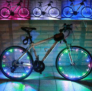 Led Bike Light Cycling Lamp Wheel Firefly Spoke Decor Light For ...