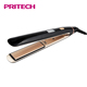 PRITECH PTC Heat Element And Ceramic Coating Hair Straightener Flat Iron With Plates Lockable Function