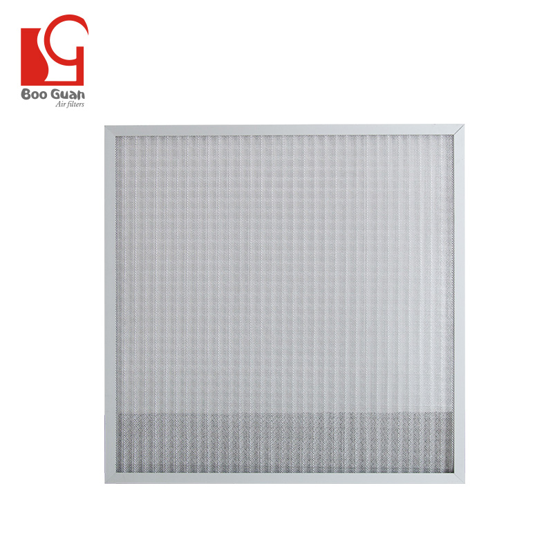 Washable metal 1000 micron filter mesh aluminum air filter