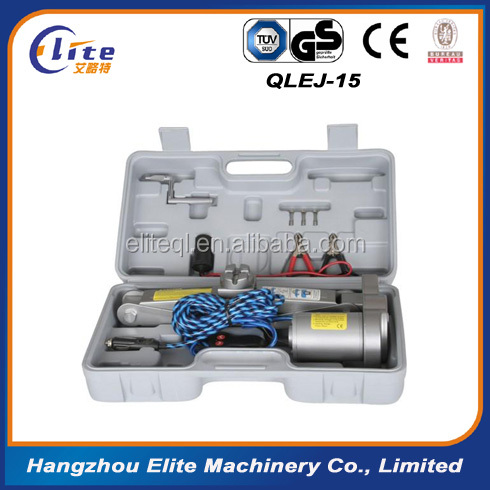 Car electric wrench scissor car lift electric jacks Electric car jack lifting 2 tons car/electric jack special suite