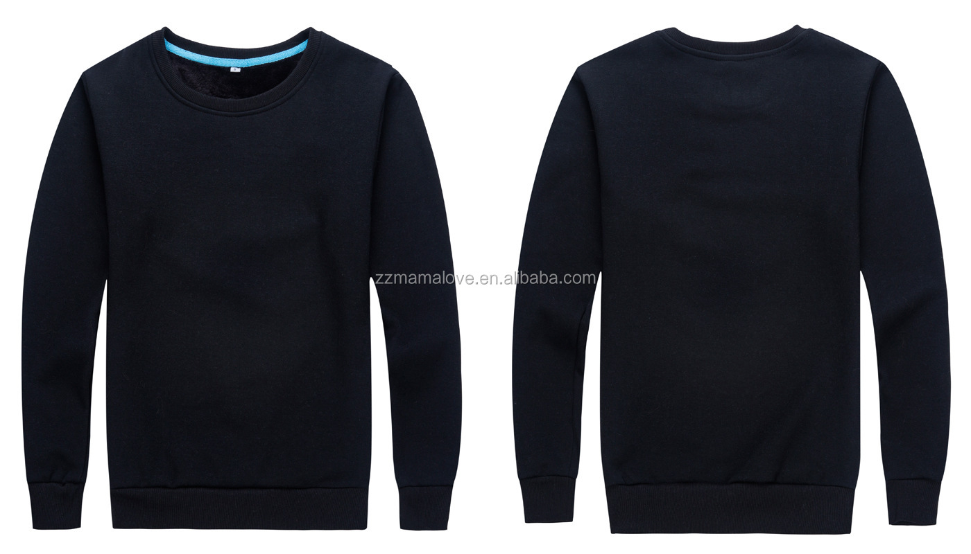 OEM Custom Print Design Logo Blank O-Neck Women Hoodie Unisex Plain Sweatshirt Stock Wholesale