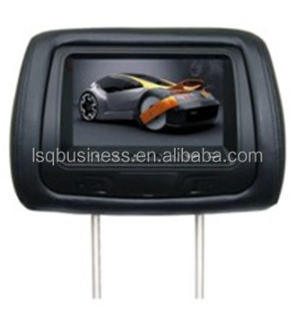 china cheap headrest car monitor with sd usb 7 inch hd screen
